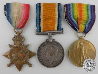 Canada. A First War Medal Trio to the Canadian Army Service Corps