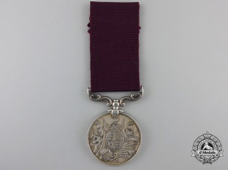 An Army Long Service and Good Conduct Medal to the 3rd Division, Coast Brigade