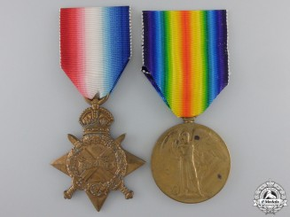 A First War Pair to Captain Fortin of Lord Strathcona's Horse