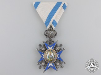 A Serbian Order of St. Sava; Fifth Class Knight