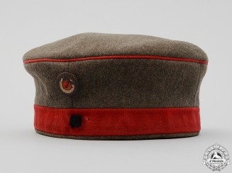 A German First World War Enlisted Man's Infantry Field Cap