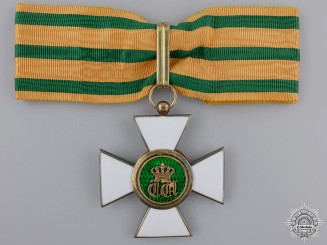 Luxembourg, Grand Duchy. An Order of the Oak Crown; Commander's Badge