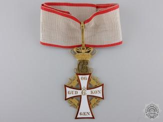 Denmark, Kingdom. An Order of Dannebrog in Gold, II Class Commander, c.1900