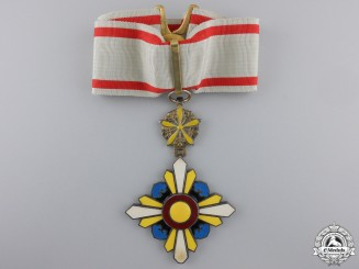 Japan, Empire. An Order of the Auspicious Clouds, III Class Commander, c.1940