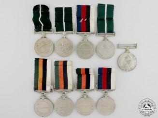 Nine Pakistani Medals & Awards
