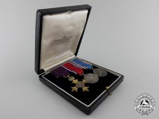 United Kingdom. An Order of the British Empire Miniature Group, Garrard & Co. Case