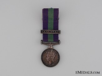 A Miniature General Service Medal