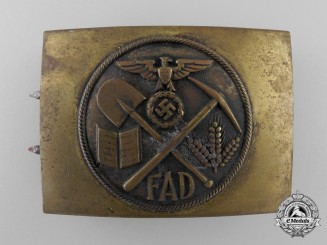A German Volunteer Labour Service  Belt Buckle