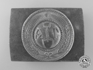 A Norwegian Labour Front Belt Buckle