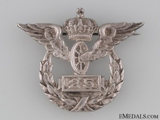 Imperial Railway 25 Year Service Badge