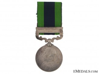 India General Service Medal - 45th Sikh Regiment
