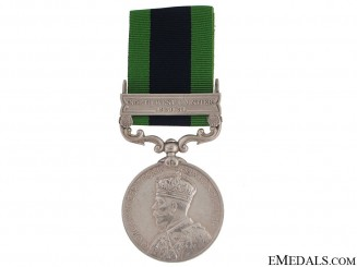 India General Service Medal - 13th Indian Transport Co.