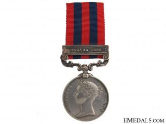 India General Service Medal - Hazara