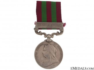 India Medal 1895-1902 - E.Surry Regt