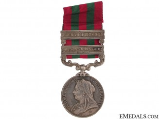 India Medal 1896 - Royal Inniskilling Fusiliers