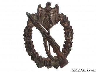 Infantry Badge - Bronze Grade