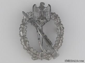 Infantry Badge; Silver Grade