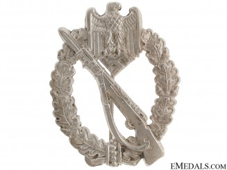 Infantry Badgee – Mint Silver Grade