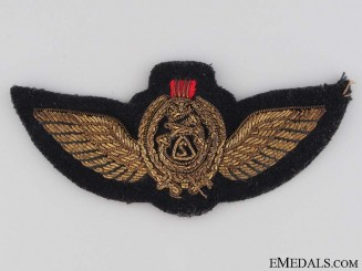 Iraqi Air Force Pilot's Wings Badge
