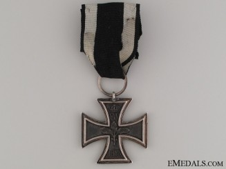 A Prussian Iron Cross 1813; Second Class