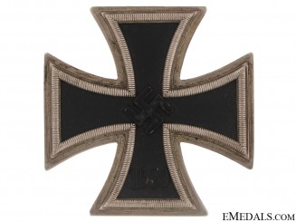 Iron Cross 1st. Cl., - maker 20