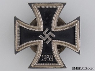 Iron Cross 1st. Class 1939; Marked L/54
