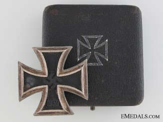 Iron Cross First Class 1939 by P. Meybauer, Berlin