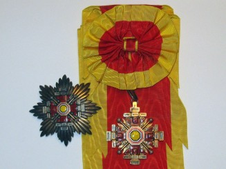 Manchukuo, the Order of the Pillars