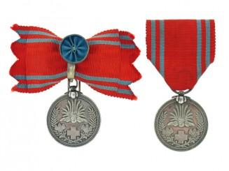 Pair of Red Cross Membership Medals