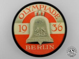 A 1936 Berlin Olympic Games Pocket Mirror