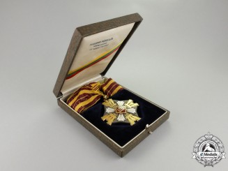 An Order of the Lithuanian Grand Duke Gediminas; 3rd Class Neck Badge