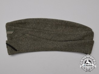 A Mint Wehrmacht Heer (Army) Pioneer Enlisted Man's Overseas Side Cap