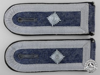 A Luftwaffe Feldwebel Air Ministry/Construction Unit Shoulder Straps