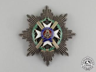 A Serbian Order of Takovo, Grand Cross Star by Jacob Leser
