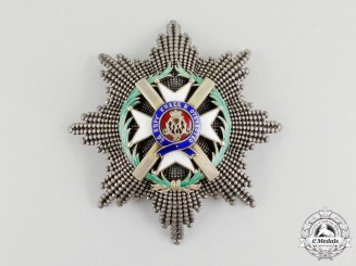 A Serbian Order of Takovo, Grand Cross Star by Jacob Leser