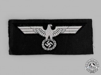 A Mint and Unissued Wehrmacht Heer (Army) Panzer EM/NCO's Breast Eagle