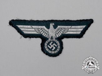 A Tunic Removed Wehrmacht Heer Late War Officer's Breast Eagle