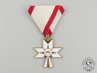 A Croatian Order of King Zvonimir's Crown; 3rd Class Civil Division