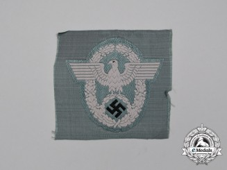 A Mint and Unissued Third Reich Period German Police/Gendarmerie Officer's Sleeve Insignia