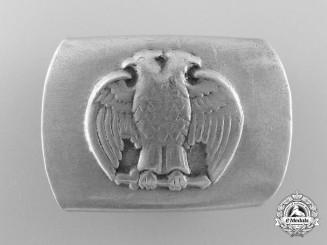 An Unknown Double Headed Eagle Belt Buckle