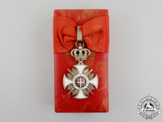 Serbia, Kingdom. An Order of Karageorge, Third Class Commander, Military Division, c.1915