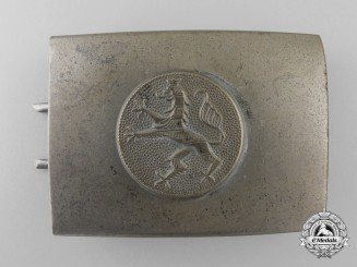 A Hessen Fire Defence Enlisted Man's Belt Buckle