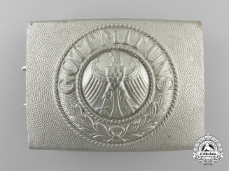 A Weimar Republic Reichsheer Enlisted Man's Belt Buckle by  Paul Cramer & Co.