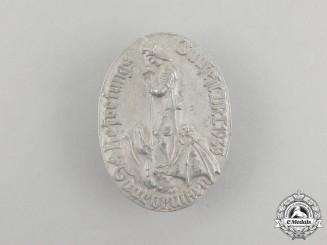 A 1935 DRL Saarbrücken Regional Liberation Festival Badge