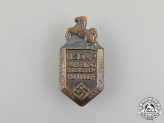 A 1934 NSDAP Braunschweig Party Day Badge