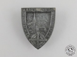 A 1936 Marbach 3rd Regional Council Day Badge