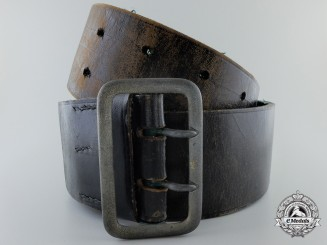 A State Forestry Official's Double Open Claw Buckle & Belt by Overhoff & Cie