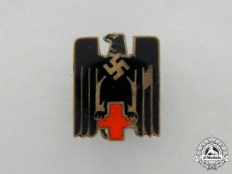 A DRK (German Red Cross) Membership Badge
