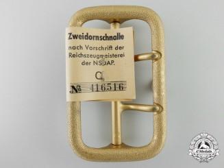 A Political Leader's Belt Buckle with RZM Tag by Dominik Schönbaumfelds