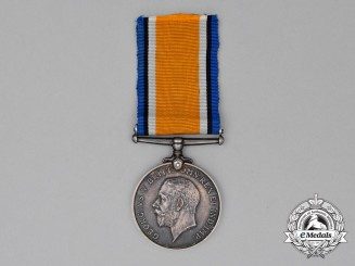 A British War Medal to 2nd Lieutenant Herbert Thomas Mackie, Royal Air Force
